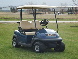 2012 Club Car Precedent - Blue