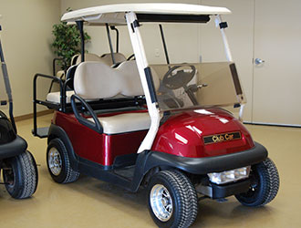 2012 Club Car Precedent Electric - Candyapple